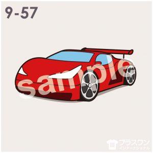 車(スポーツカー)のイラスト素材