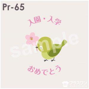 メジロと桜の春らしいデザイン素材