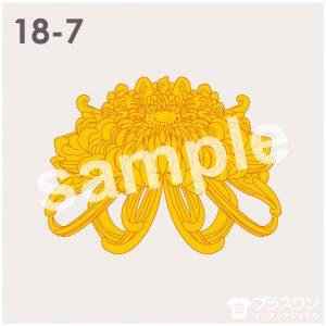 菊の花のイラスト素材