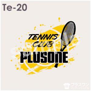 スタイリッシュでかっこいいテニスデザイン素材