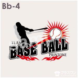 チームウェアにもおすすめの、かっこいい野球デザイン素材
